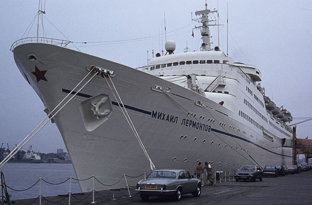 Mikhail Lermontov at Tilbury in 1983